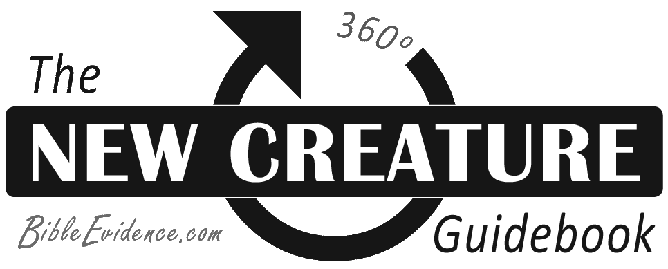 New Creature Guidebook logo by BibleEvidence.com